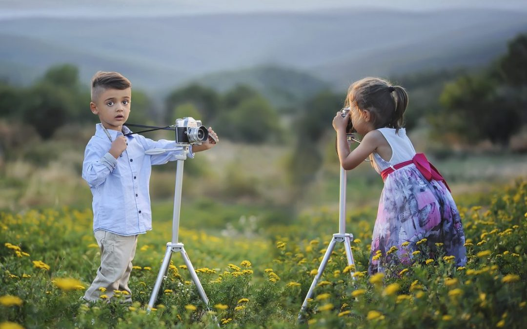 Working with Kids at Family Photo Sessions